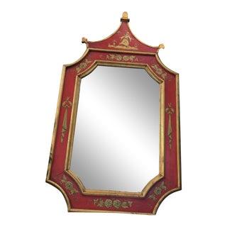 Vintage Florentine Pagoda Mirror For Sale