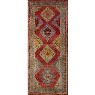 Antique Oushak Rug - 4′10″ × 11′9″