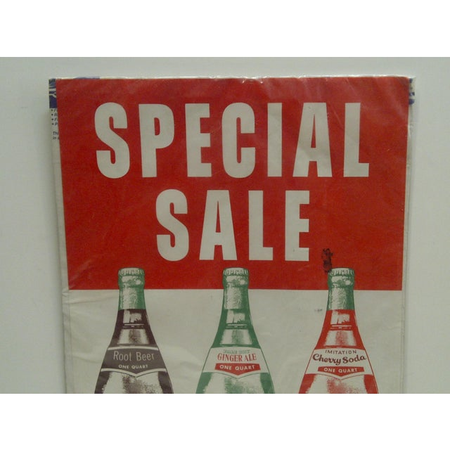 "Americana Vintage Advertising Poster - ""Nehi Soda"", 1960 For Sale - Image 3 of 4"