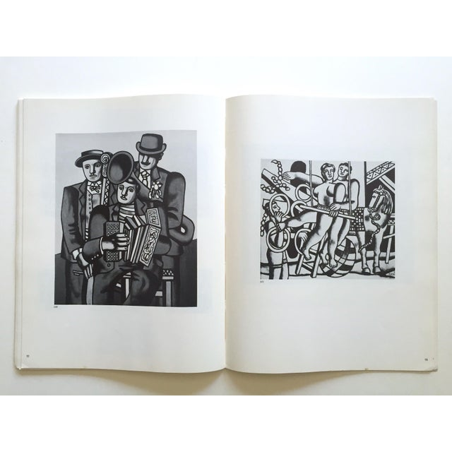"""Blue Fernand Leger Rare Vtg 1962 Lmtd Edtn """" Five Themes & Variations """" Guggenheim Museum Exhibition Catalogue Collector's Art Book For Sale - Image 8 of 13"""