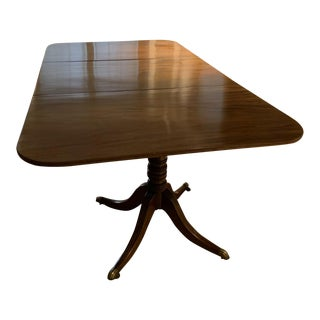 19th Century American Federal Dining Table For Sale