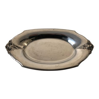 Elegant Vintage Wilcox Silver Plate Bread Tray For Sale