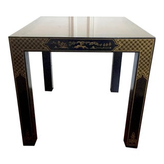 Vintage Drexel Heritage Chinoiserie Style End Table For Sale