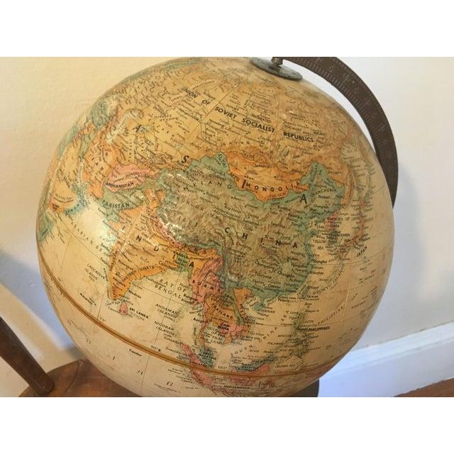 "Vintage 1990 Replogle World Classic Series 12"" Diameter Globe For Sale - Image 12 of 13"