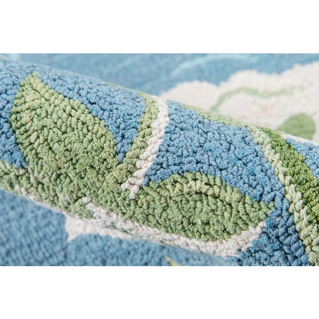 2010s Madcap Cottage Embrace Blue Area Rug 5' X 8' For Sale - Image 5 of 8