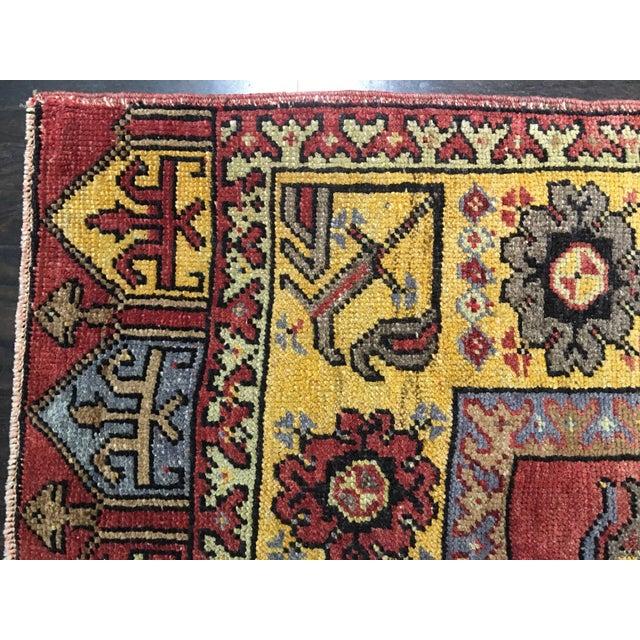 "Bellwether Rugs Vintage Turkish Oushak Runner - 4'9"" X 14'3"" - Image 10 of 10"