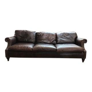 Ralph Lauren Leather Sofa For Sale