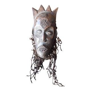 Vintage Senufo African Tribal Mask For Sale