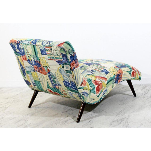 Adrian Pearsall Mid-Century Modern Contour Wave Chaise Lounge Chair by Adrian Pearsall, 1950s For Sale - Image 4 of 10