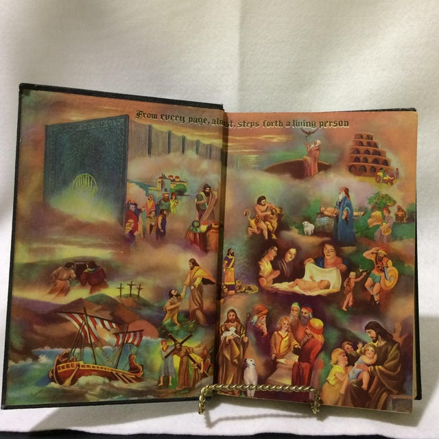 C. 1948 The Book of Life - Set of 4 For Sale - Image 5 of 6