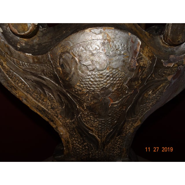 19th Century Silver Gilt Lamp For Sale - Image 11 of 13