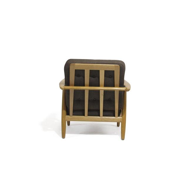 1950s Hans Wegner Cigar Lounge Chair For Sale - Image 5 of 7