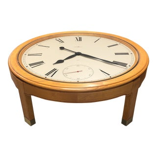 Howard Miller Clock Coffee Table For Sale