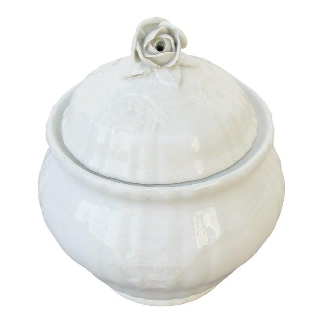 Vintage KPM Bavarian Porcelain Jar For Sale
