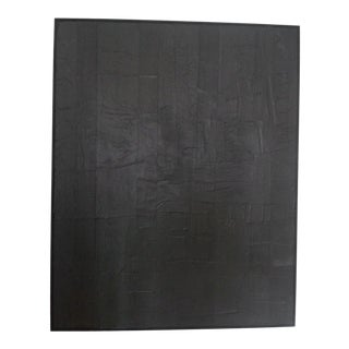 Kelly Caldwell Contemporary Monochromatic Minimalist Painting For Sale