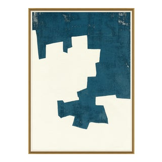 Jenga in Blue II Art Print For Sale