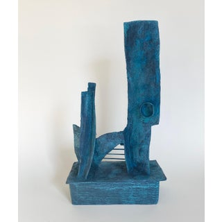 Mid-Century Modernist / Cubist Abstract Sculpture Preview