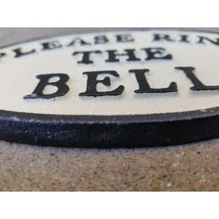 Cast Iron Please Ring the Door Sign Preview