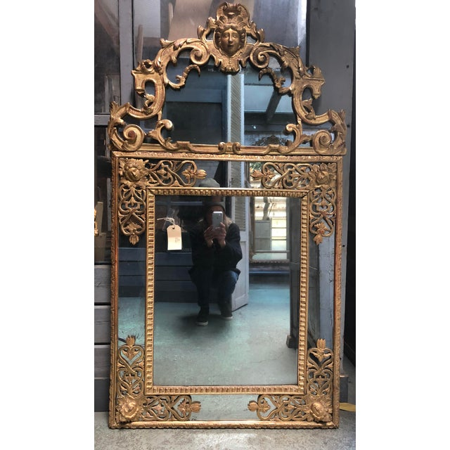 Traditional Magnificent Régence Mirror For Sale - Image 3 of 13