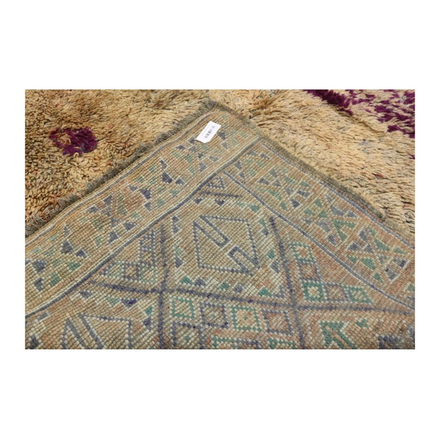 Berber Tribes of Morocco Vintage Berber Moroccan Rug With Postmodern Memphis Style - 05'10 X 10'02 For Sale - Image 4 of 12