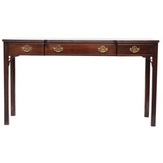 Chippendale Style Console Table, C.1970s