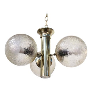 Anodized Aluminum Modern Chandelier For Sale