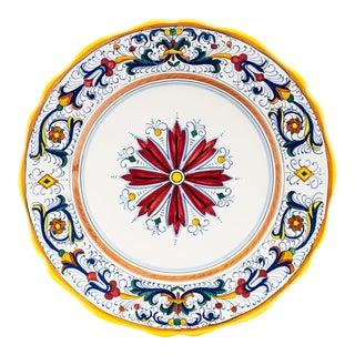 Ricco Deruta Dinner Plate, Full Design