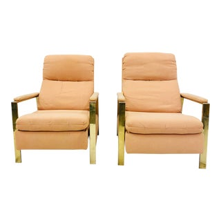 Vintage Mid Century Modern Milo Baughman Chairs For Sale
