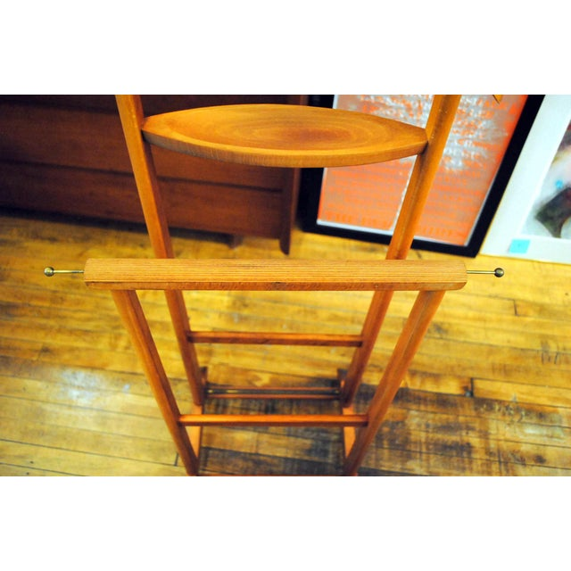 Mid-Century Modern Valet by Ico Parisi for Fratelli Reguitti For Sale In Boston - Image 6 of 11
