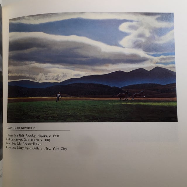 Black 1985 The Paintings of Rockwell Kent Book For Sale - Image 8 of 11
