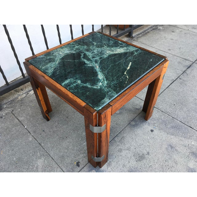 Verde Green Marble Top Side Table - Image 5 of 10