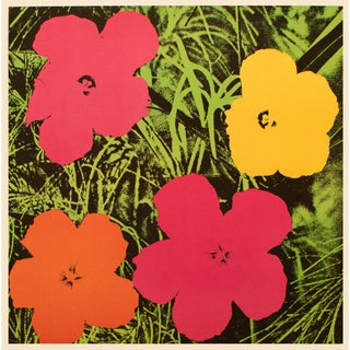 "1993 Andy Warhol ""Flowers, 1964"", Pop Art Lithograph For Sale"