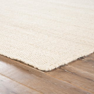 Jaipur Living Hutton Natural Solid White Area Rug - 5' X 8' Preview