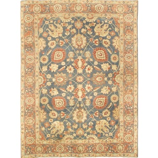 Antique Persian Tabriz Rug - 9′3″ × 12′8″ For Sale