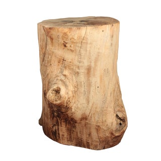 Antique Tree Stump Table For Sale