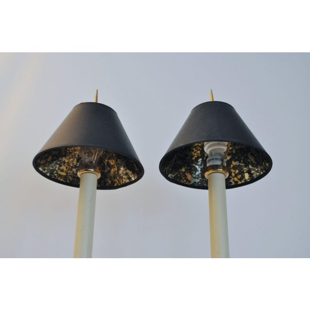 Vintage 1981 Chapman Spike Table Lamps - A Pair - Image 5 of 8