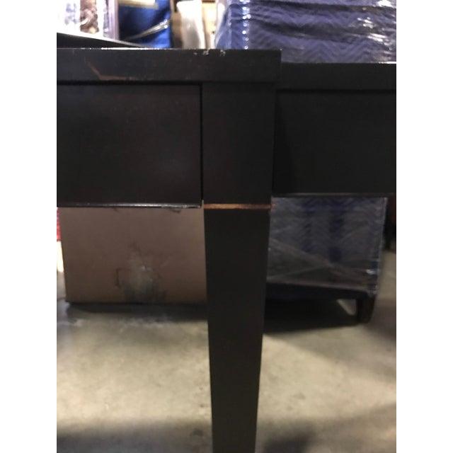Brass Maxine Snider Mahogony Grande Salon Console Table For Sale - Image 7 of 10