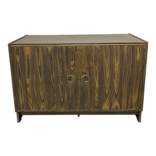 Mid-20th Century Turn Table Media Unit For Sale