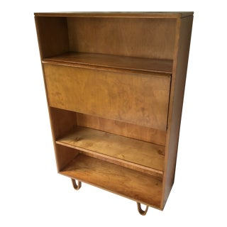 Cees Braakman Bb04 Birch Secretary Bookcase for Ums Pastoe For Sale