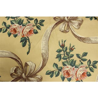 Rose Cumming Chintzes Fabric Panels - Set of 5 For Sale