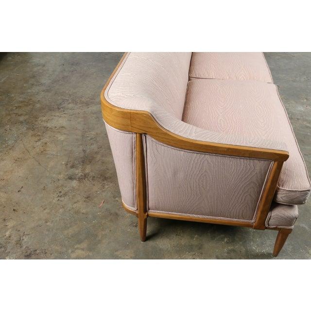 Vintage Mid-Century Pink Sofa - Image 11 of 11