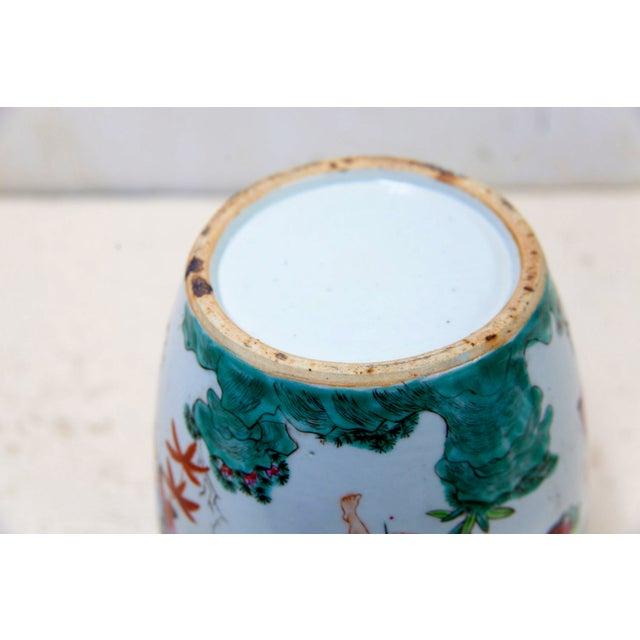 Antique Chinese Ceramic Melon Jar - Image 7 of 7