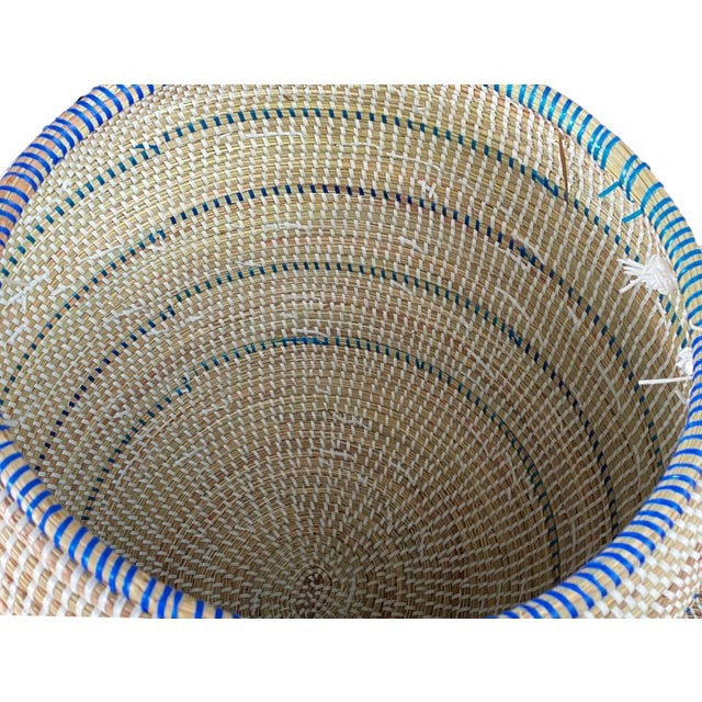 Basket With Lid Senegal West Africa For Sale In New York - Image 6 of 8
