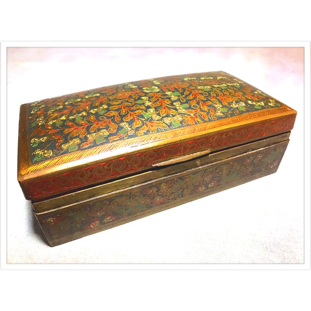 Antique French Enamel Champleve Box For Sale In Richmond - Image 6 of 11