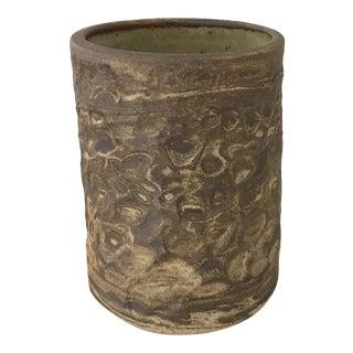 Swirl Mid Century Style Studio Vase For Sale
