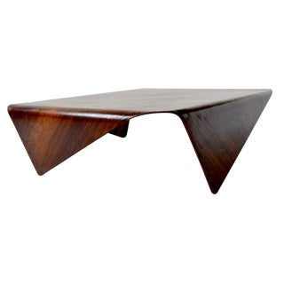 Jorge Zalszupin Andorinho Table Brazilian Mid Century Modern For Sale