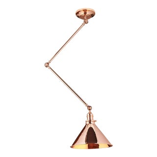 Provence Grande Sconce/Pendant in Polished Copper