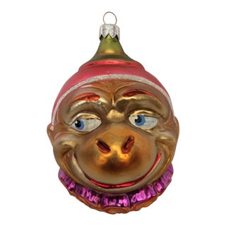 "Christopher Radko ""My Favorite Chimp"" Christmas Ornament For Sale"