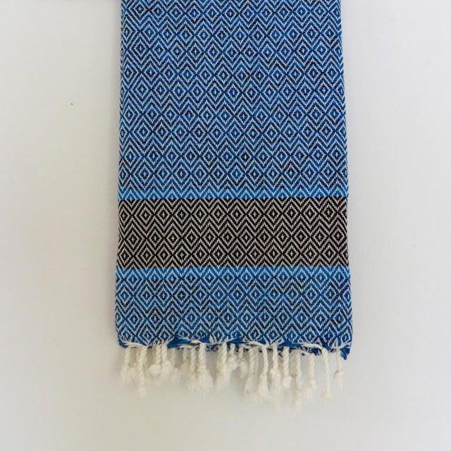 Blue Turkish Towel - Image 2 of 2