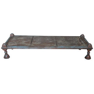 Antique Gujarat Bed Coffee Table
